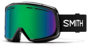 Antiparra Nieve Smith Range Black Green Mirror Negro