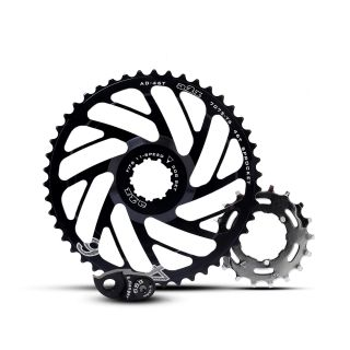 Corona Bicicleta A2Z Components 46T One Up 11 speed Negro