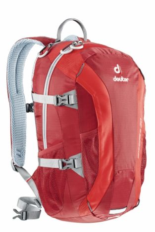 Mochila Deuter Speed Lite 20 Cranberry-Fire