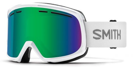 Antiparra Nieve Smith Range White Green Mirror Blanco