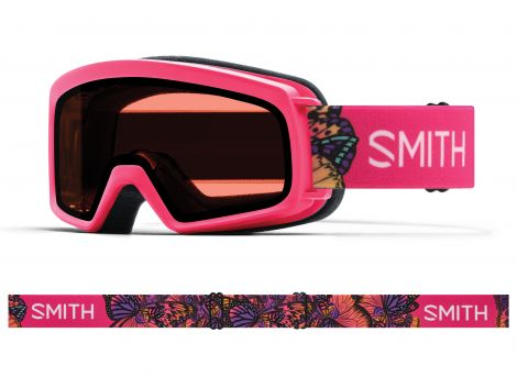 Antiparra Nieve Smith Rascal JR Crazy Pink Butterflies RC36 Rosado