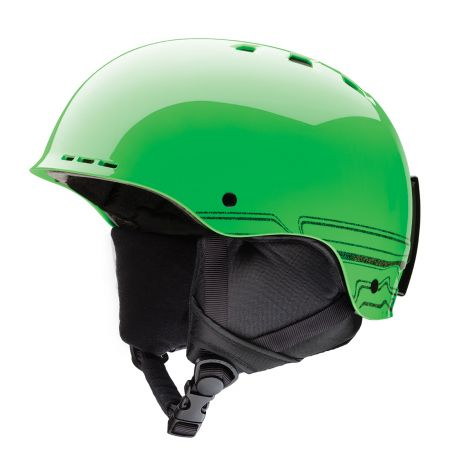 Casco Nieve Smith Holt JR M Verde