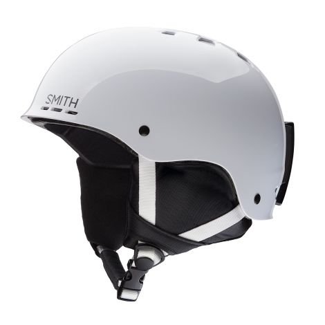 Casco Nieve Smith Holt JR YS Blanco