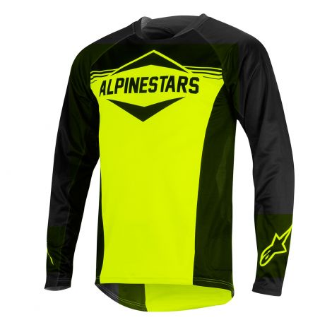 Jersey Alpinestars Mesa L/S Black/Yellow XL