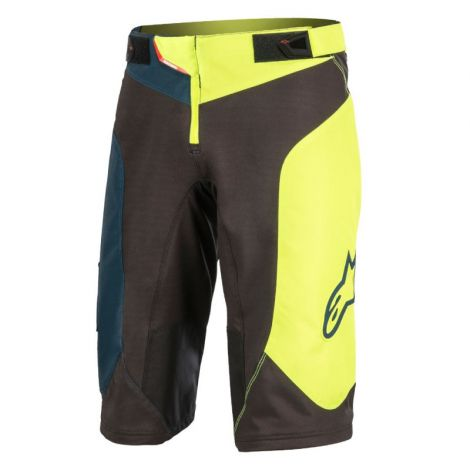 Short Alpinestars Sight Vector Negro/Amarillo 34
